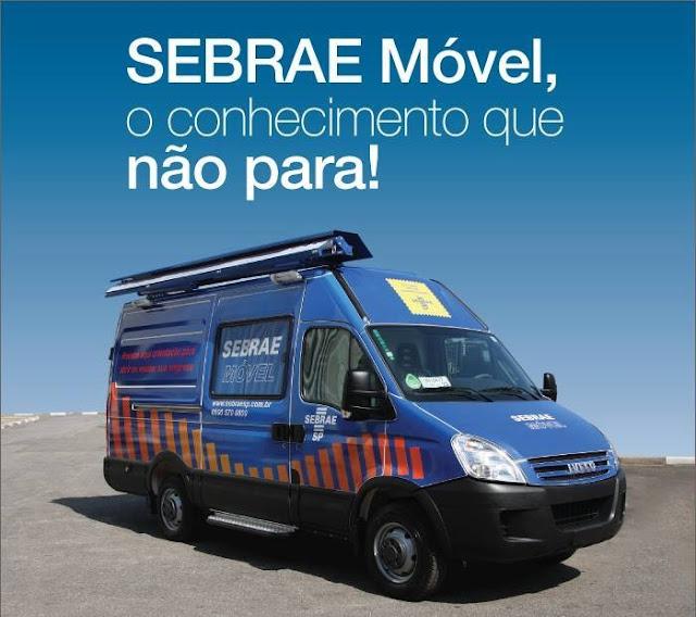 Sebrae Móvel oferece atendimento a empreendedores de Cajobi