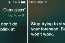 Apple Siri Sindir Google Glass
