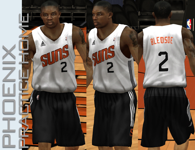 super popular 4d743 69fc4 NBA 2K13 Phoenix Suns All Jerseys Patch - NBA2K.ORG