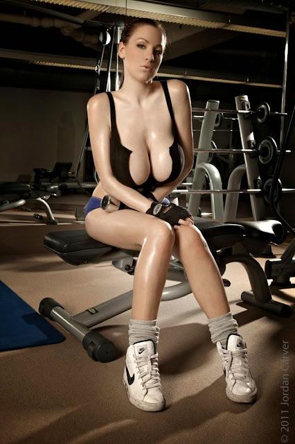 Jordan Carver - big breasts huge boobs