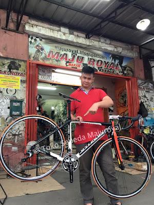 Specialized Roadbike Frame Alloy Fork Carbon Enteng