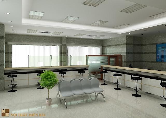 Nguyên tắc thiết kế nội thất văn phòng giao dịch chuyên nghiệp - H3