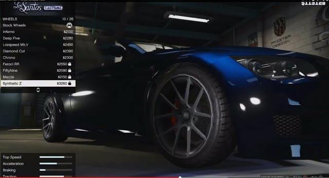 GTA 5 Customizable Cars