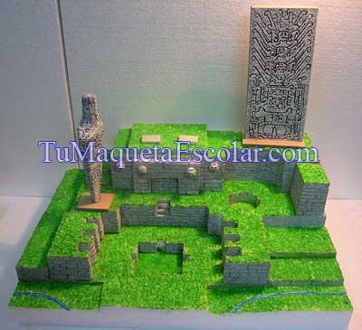 castillo, lanzon y estela de raimondi juntos