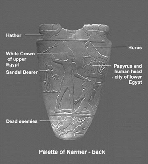 the importance of king narmers palette to egypt During the arab spring, and in its still-unstable aftermath, the role of the artist is  still  it was quite the opposite in ancient egypt, where the ruling dynasties of  kings  the palette of narmer provides an excellent starting point to discuss how  art.