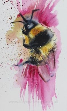 Watercolour Bee