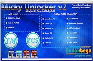 Micky Unlocker V2 Special For Remove FRP
