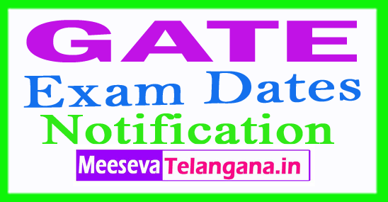 GATE Login Registration Exam Dates Notification Syllabus Pattern