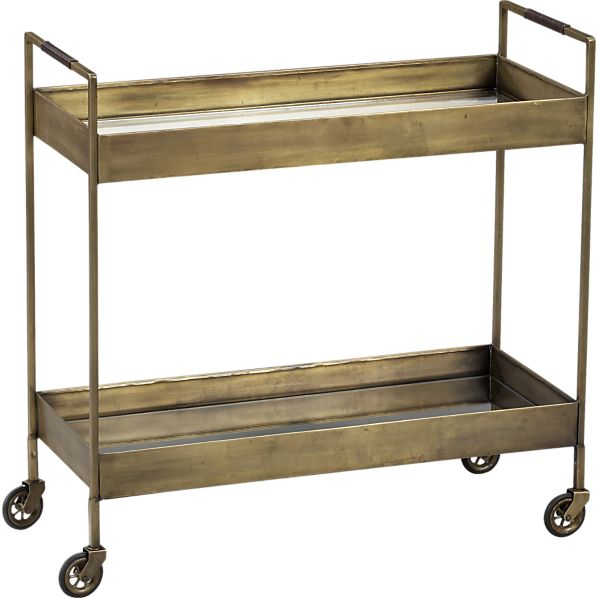brass bar cart 10 affordable bar carts plus accessories to stock them