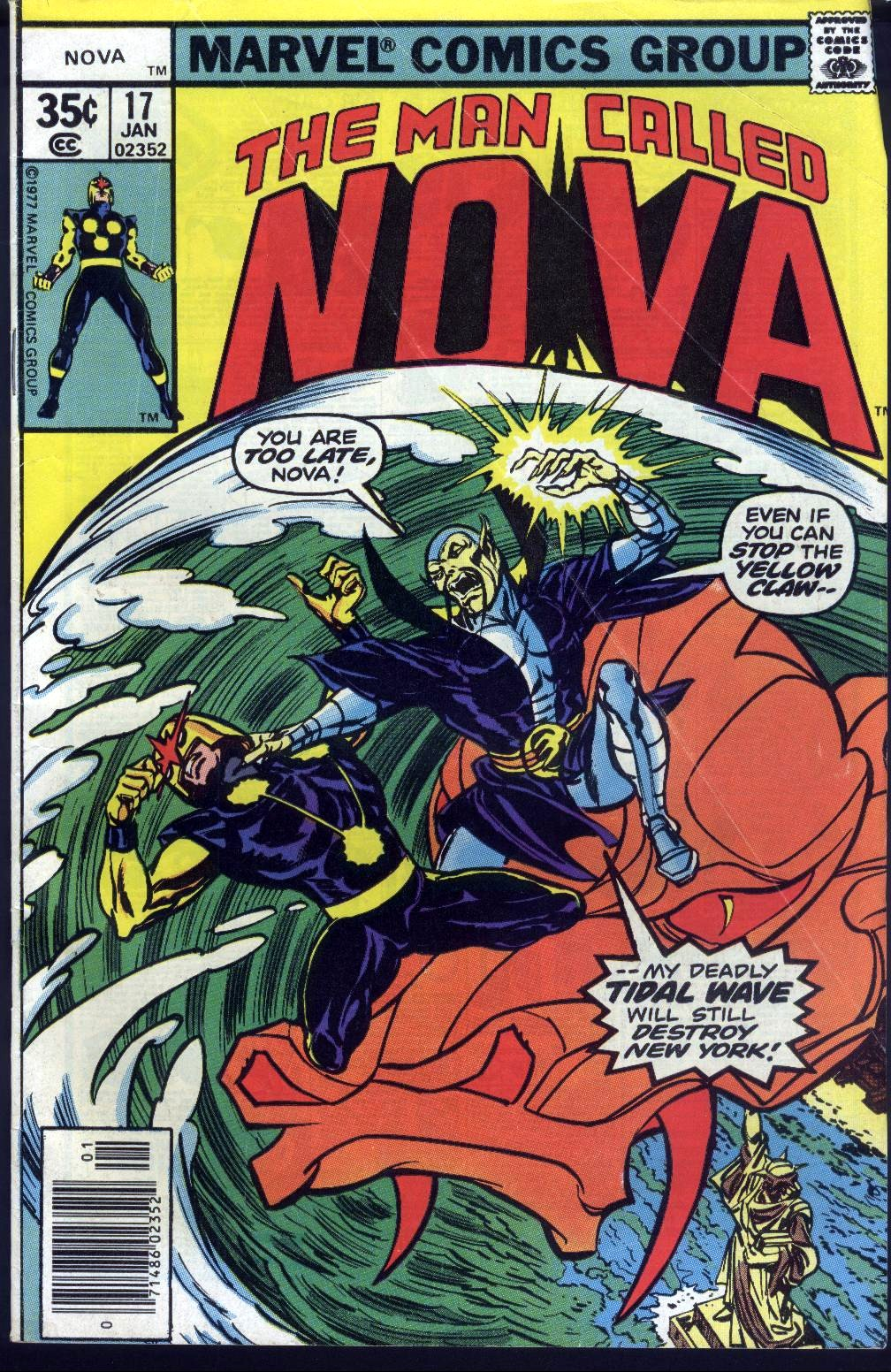 Nova (1976) 17 Page 1
