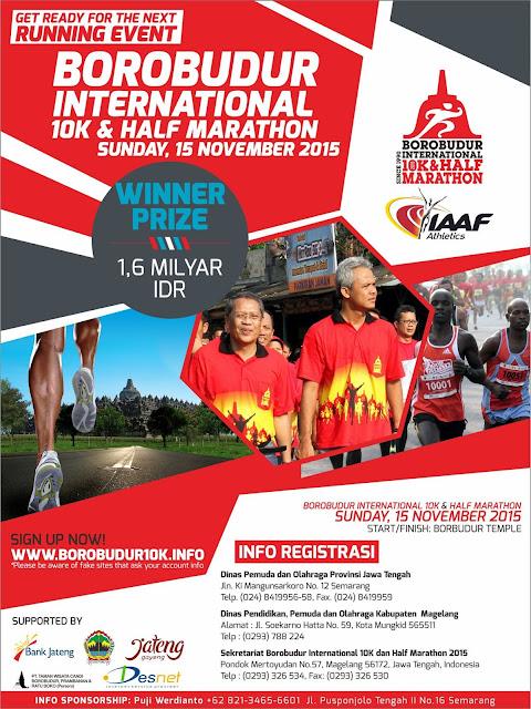 Poster Borobudur 2015