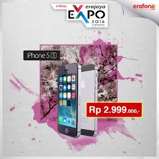 Erajaya Expo iPhone 5S Harga Promo Rp 2.999.000