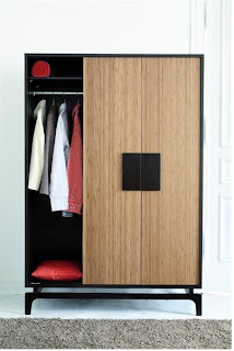3 Door wardrobe Kokeshi with/out top cupboard for modern bedroom furniture sets