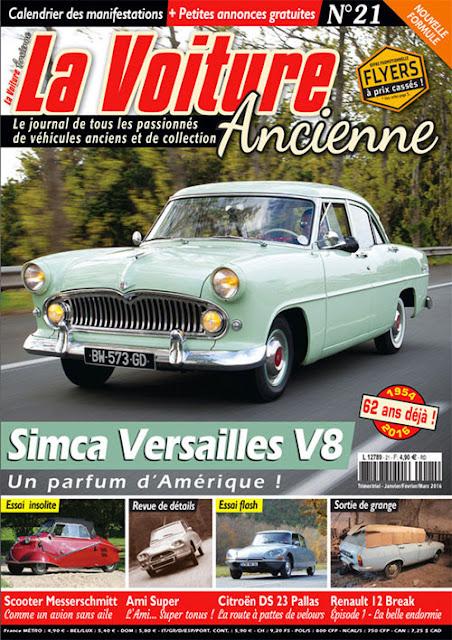 simca versailles V8 1954