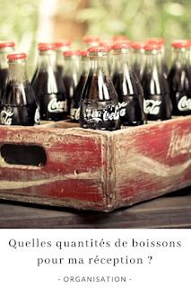 astuces et quantités de boissons a prevoir pour une reception blog mariage unjourmonprinceviendra26.com