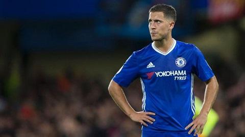 Eden Hazard- cầu thủ thi đấu thất vọng nhất trong màu áo Chelsea