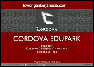 lowongankerjanesia.com Lowongan Kerja  OB  Cordova Edupark Apartment, Semarang