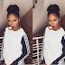 Tiwa Savage does her own makeup,and this is the result..
