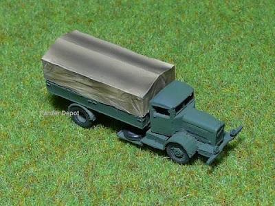 German Henschel 6J Truck