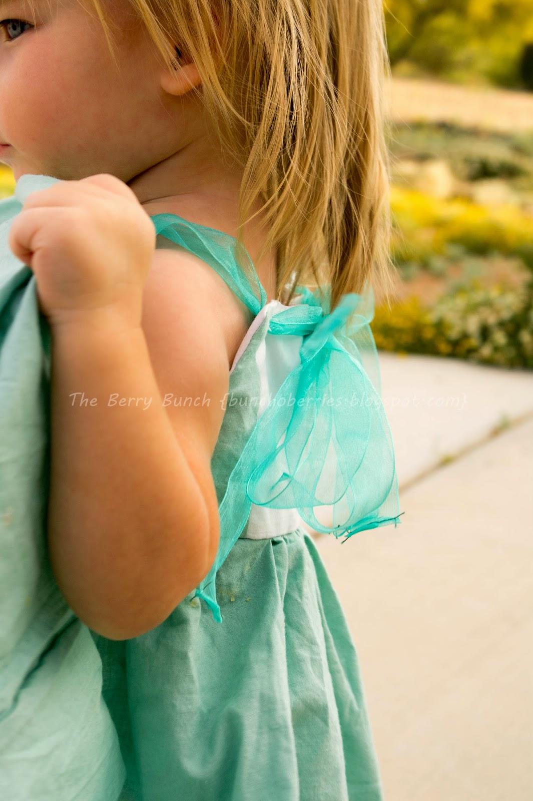 The Berry Bunch: Tea Party Dress: GYCT Designs Firecracker