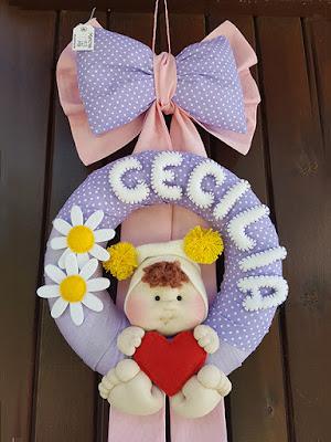 fiocco nascita cecilia bambolotto