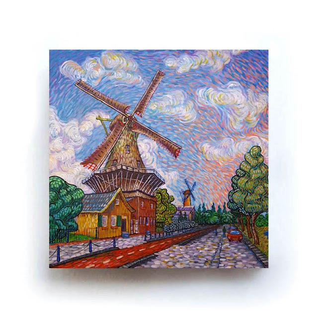Rotterdam De Ster Like Van Gogh
