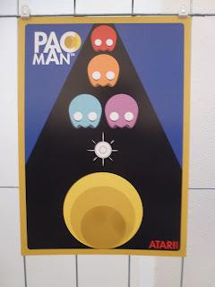 Pac Man - Retra- Kunstdruck von buonogelato-design
