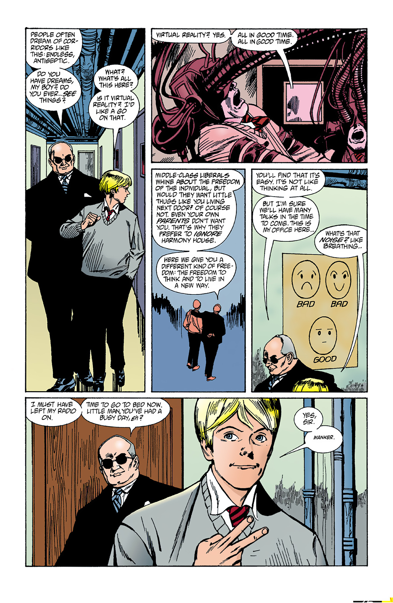 The Invisibles (1994) 1 Page 28