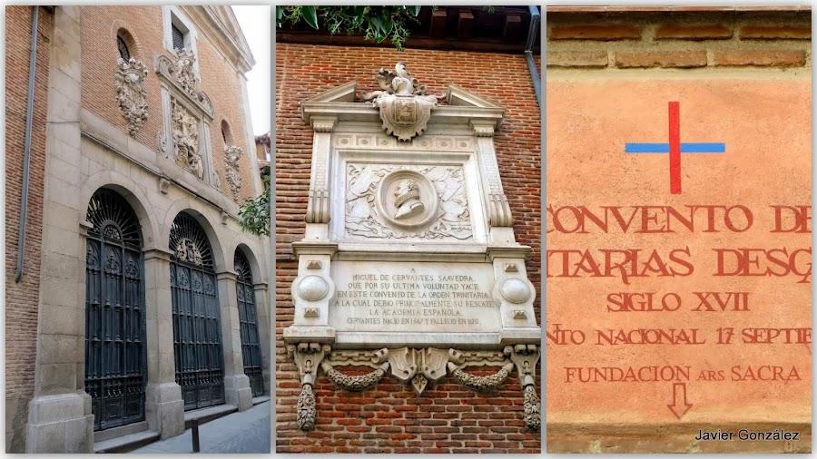 Restos de Cervantes en Madrid