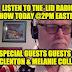 LISTEN Today @2pm Lid Radio Show W/Kenneth McClenton & Melanie Collette