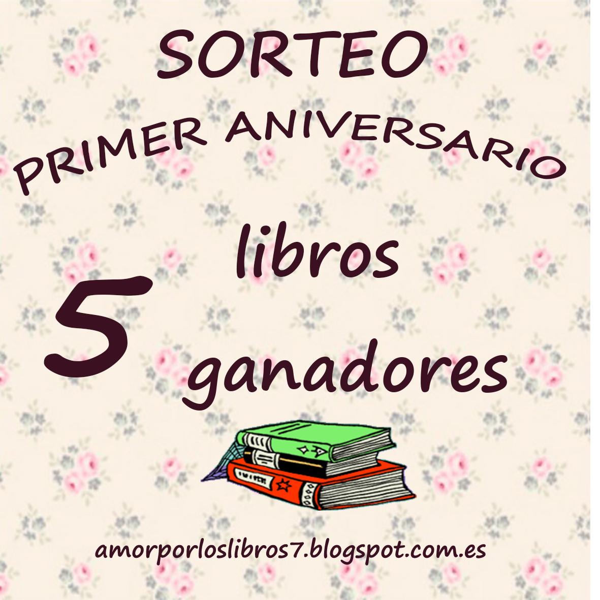 ❤ SORTEO PRIMER ANIVERSARIO ϟ ¡5 GANADORES! ❤