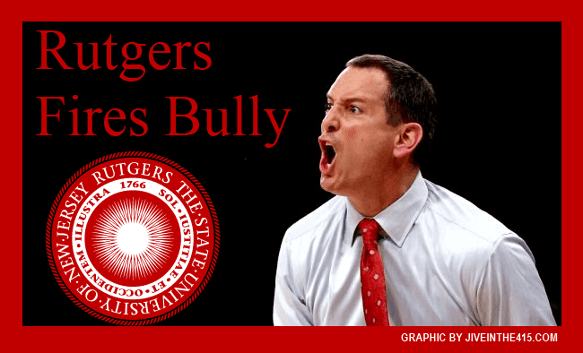 Rutgers University's embattled bully and former basketball coach Mike Rice