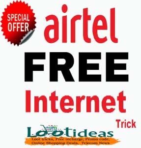 Airtel 1GB 3G/4G data free 2019 (loot tricks)