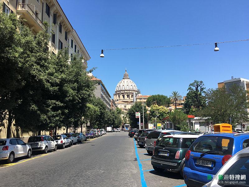 [羅馬教廷/梵蒂岡] 參觀梵蒂岡博物館和聖伯多祿大殿 令人屏息的米開朗基羅畫作-創世紀