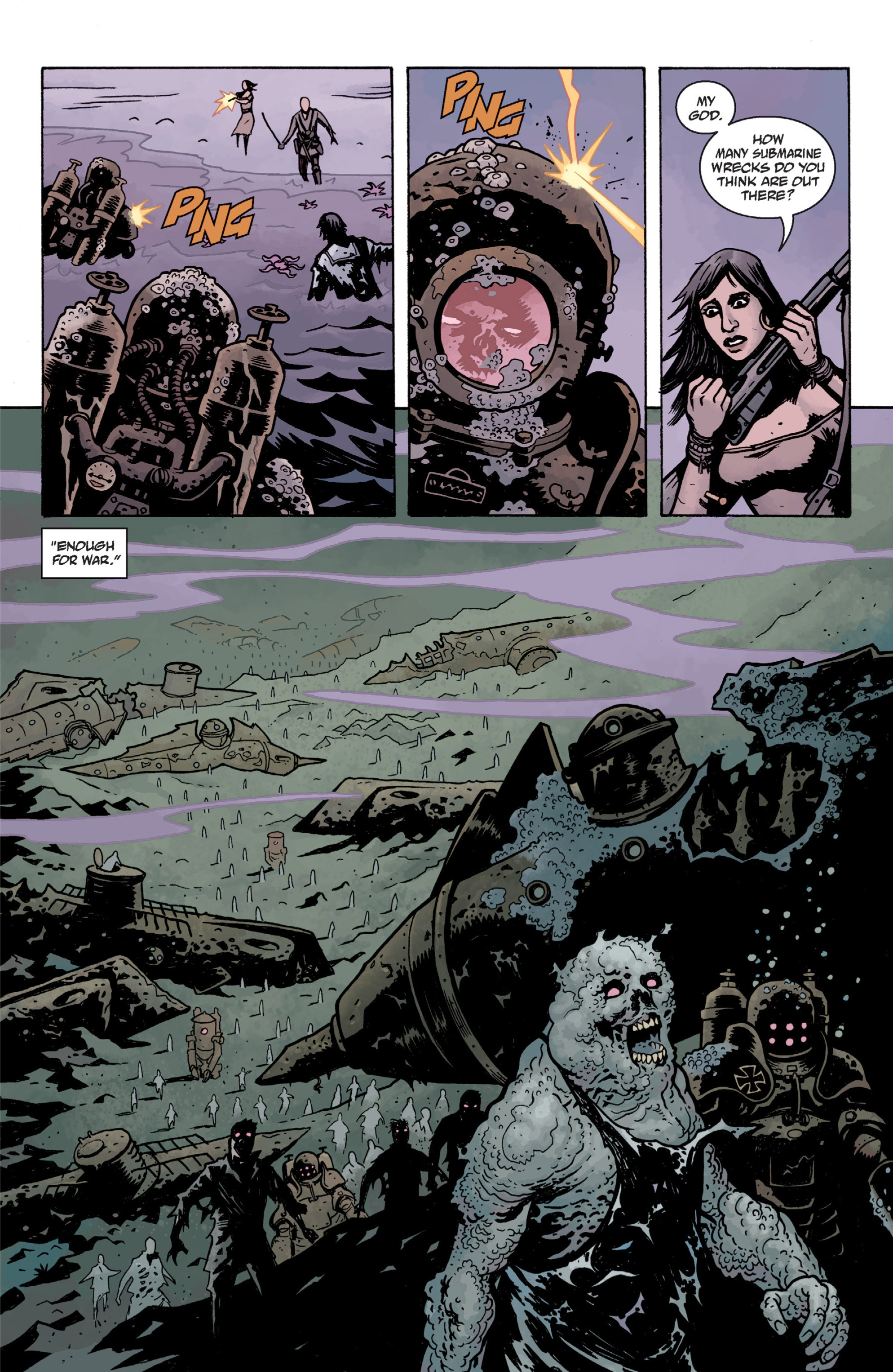 Read online Baltimore: The Plague Ships comic -  Issue # TPB - 111