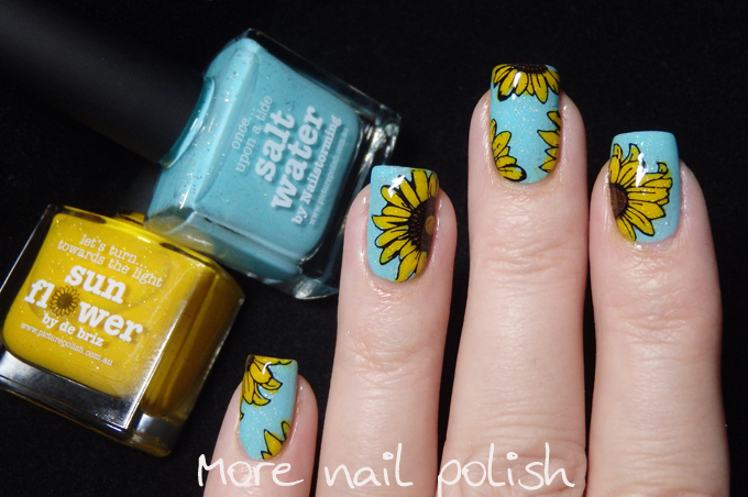 Picture Polish Sunflower And Saltwater More Nail Polish