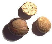 Indian Spice Jaiphal or Nutmeg