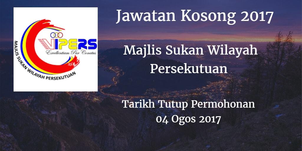 Jawatan Kosong WIPERS 04 Ogos 2017