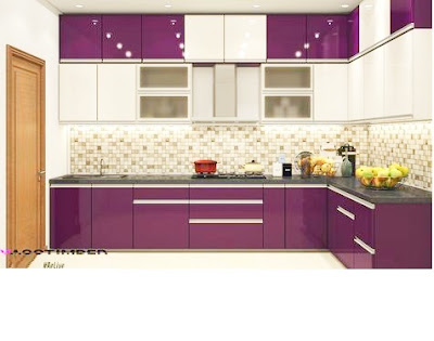 modern purple kitchen cabinets design ideas 2019 catalogue