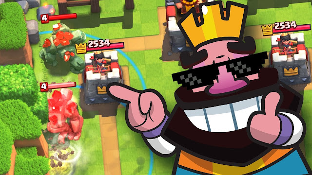 Novo Bug no Clash Royale