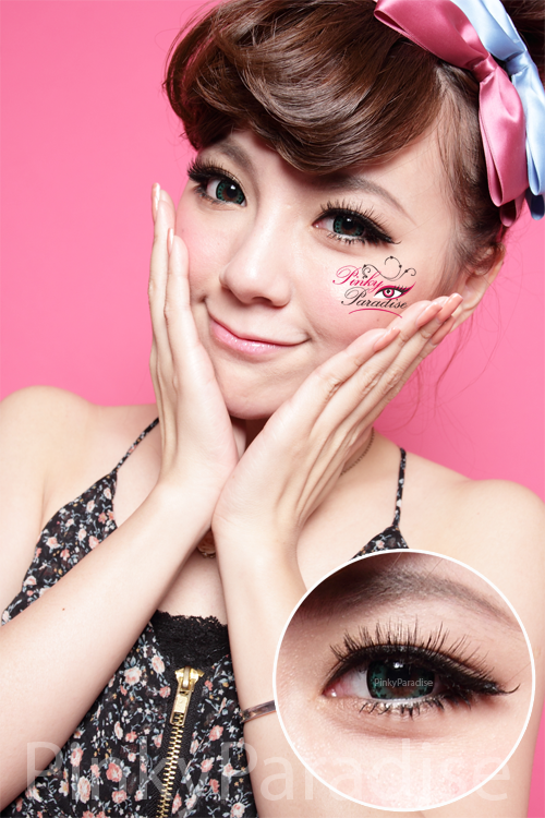 Vassen Trinity Green Circle Lenses (Colored Contacts)