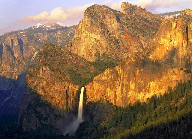 Bridalveil falls, Yosemite Valley, Yosemite national park - Califórnia
