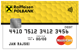 Karta MasterCard Debit w Raiffeisen Polbank