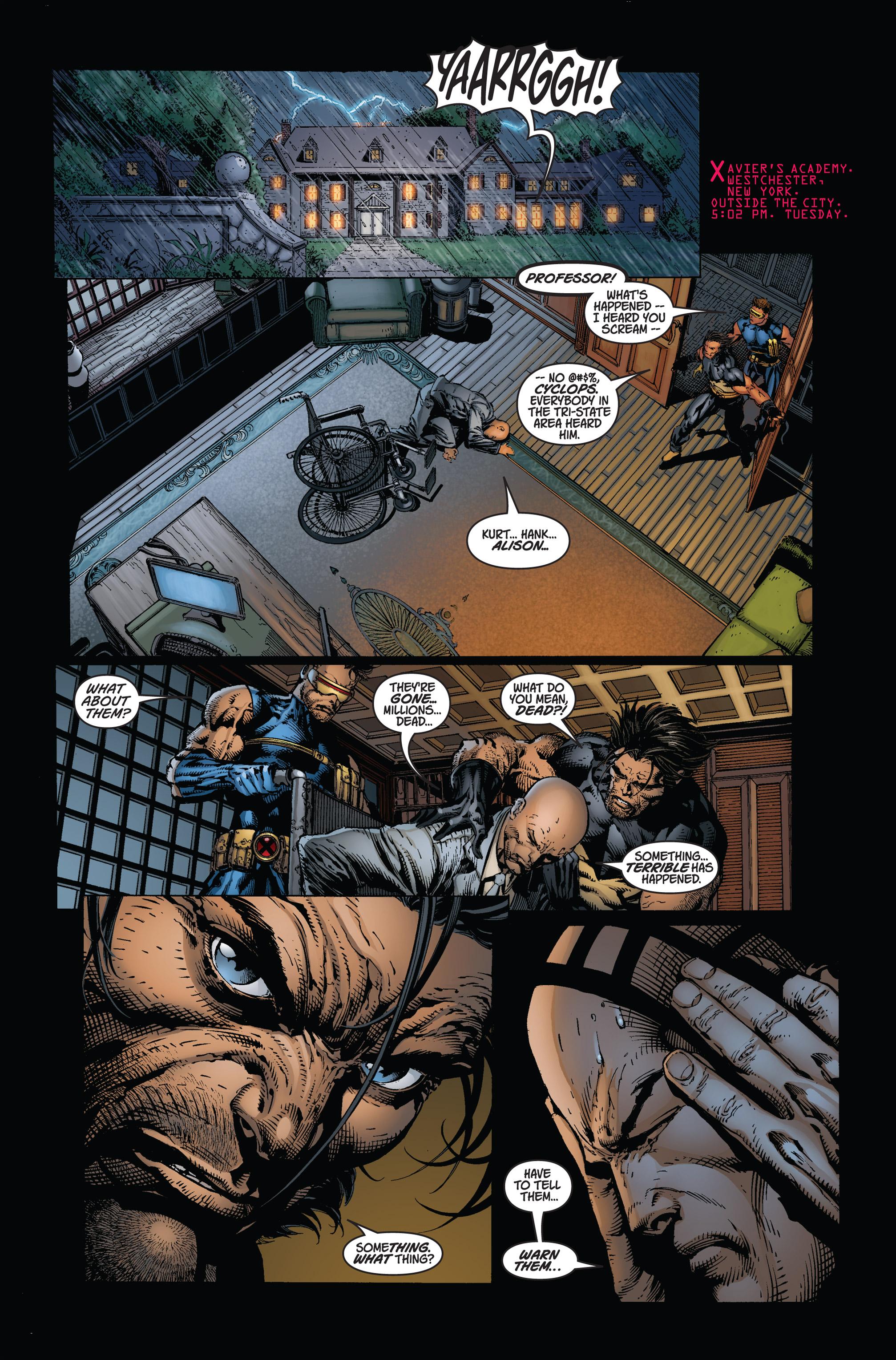 Read online Ultimatum comic -  Issue #1 - 21