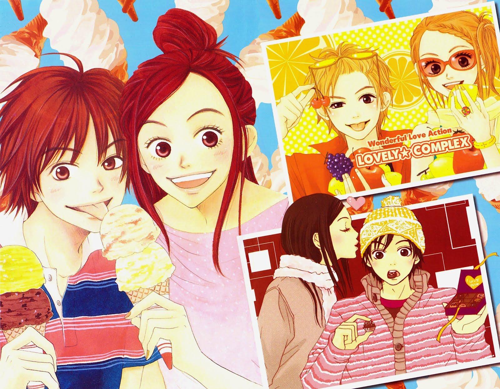 Lovely Complex Kiss Manga