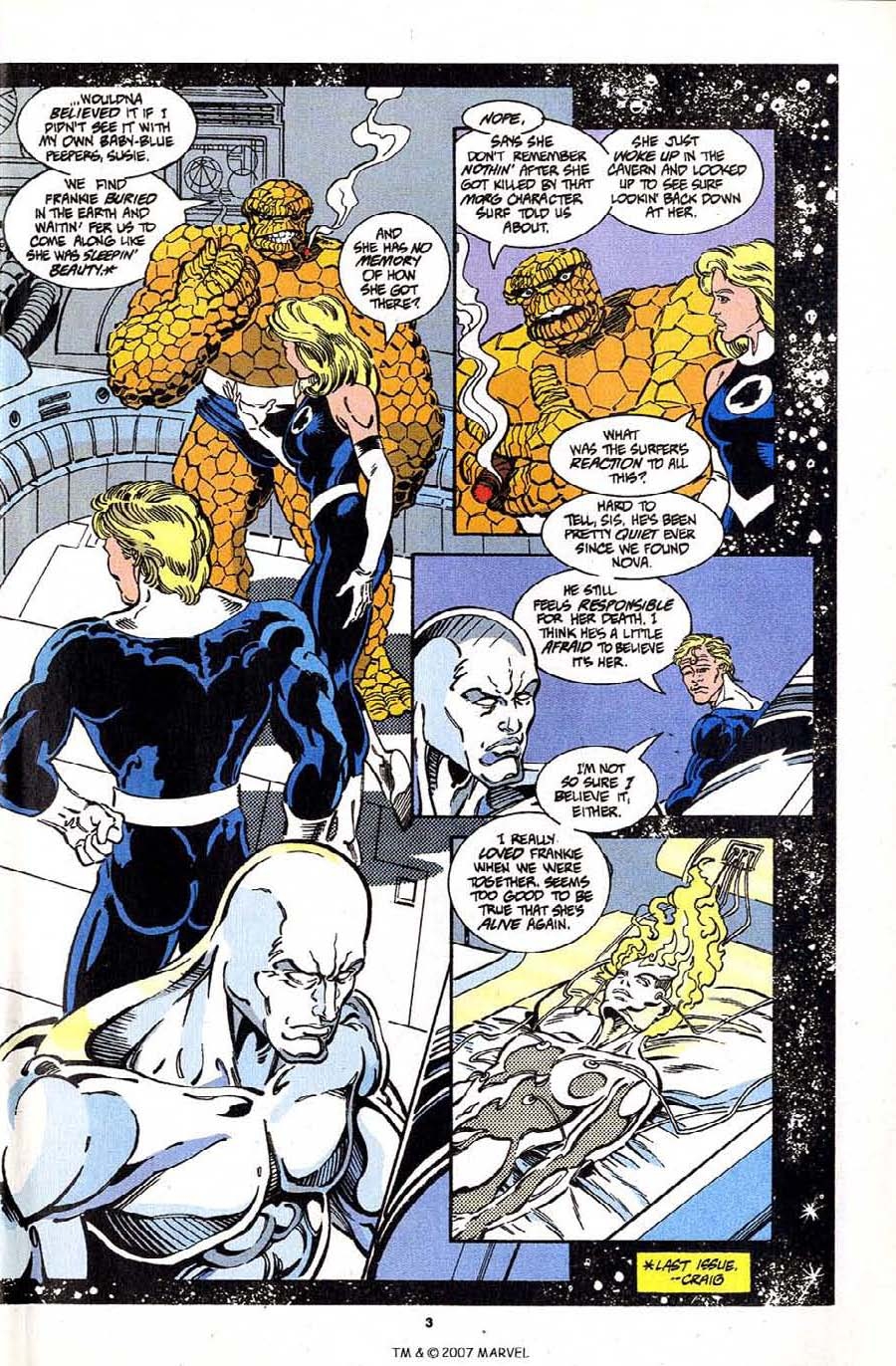 Read online Silver Surfer (1987) comic -  Issue #97 - 5