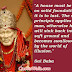Sai Baba Quotes Pictures, Sai Baba Good Thoughts Message Images