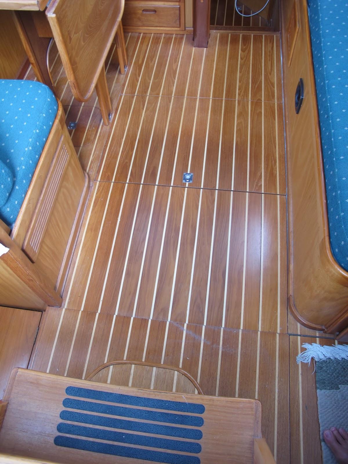 CKD Boats - Roy Mc Bride: Teak and Ash boat flooring