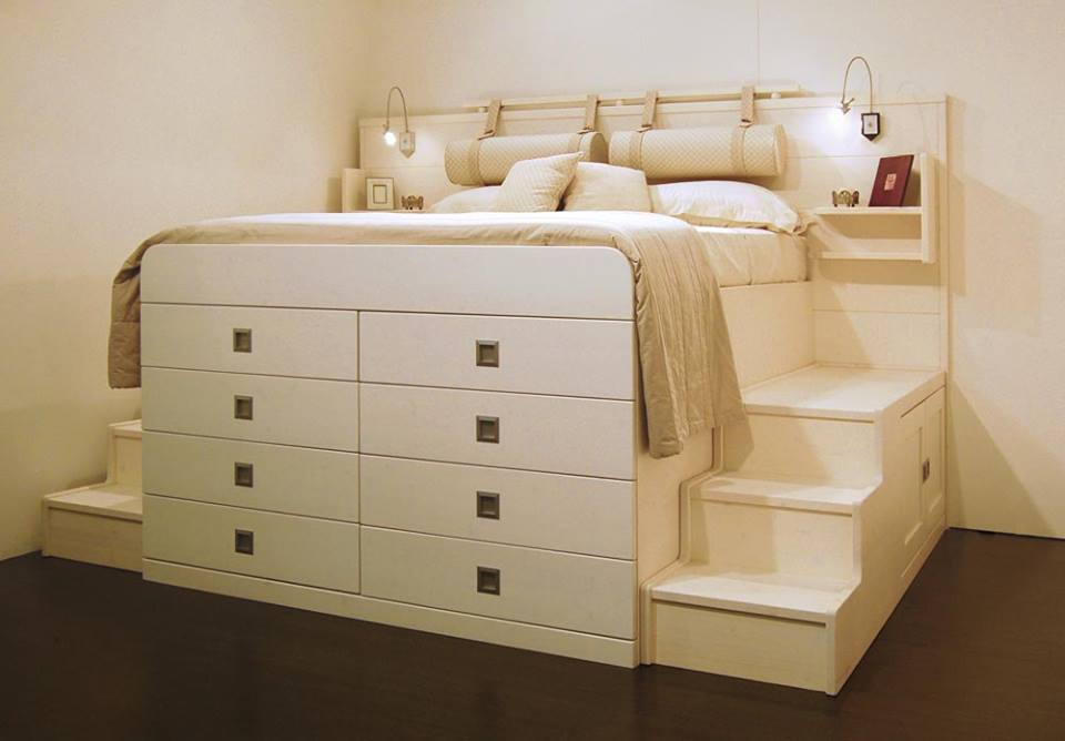 10 bed bases where you can keep everything you want decor units - Letto matrimoniale con cassetti ...