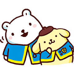 Pompompurin × Bac Bac's Diary: Cheer Up!